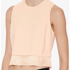 ALC Kennedy Crop Top with Fringe